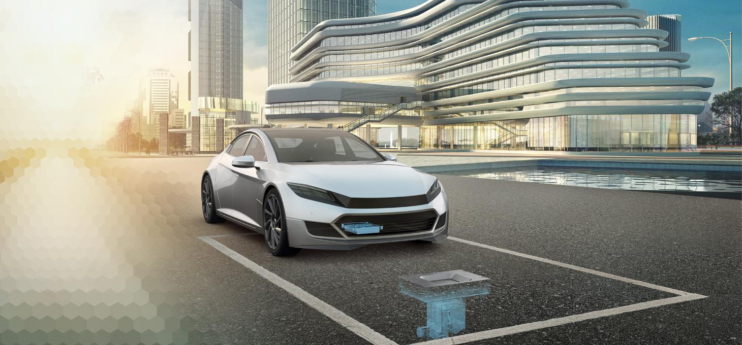 Elektrofahrzeuge nutzt Schunk Underbody Charger zum Laden seiner Batterien.
